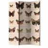 Paraván - Retro Style: Butterflies [Room Dividers]