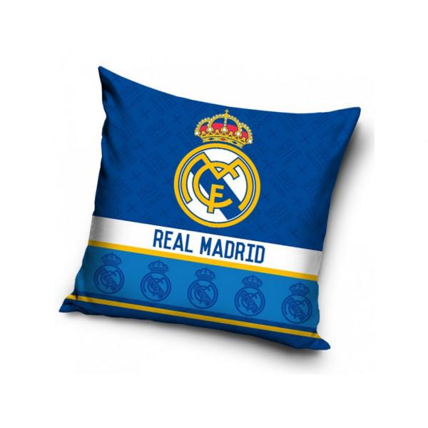 Obliečka na vankúšik REAL MADRID BLUE SHIELDS 40x40 cm